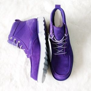 🆕Nike ACG Kingman Purple Suede Mid Boot